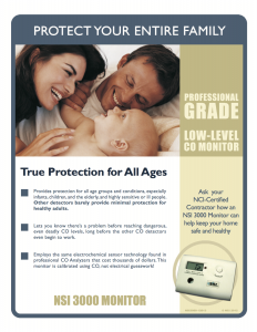 Low Level CO Detectors Brochure