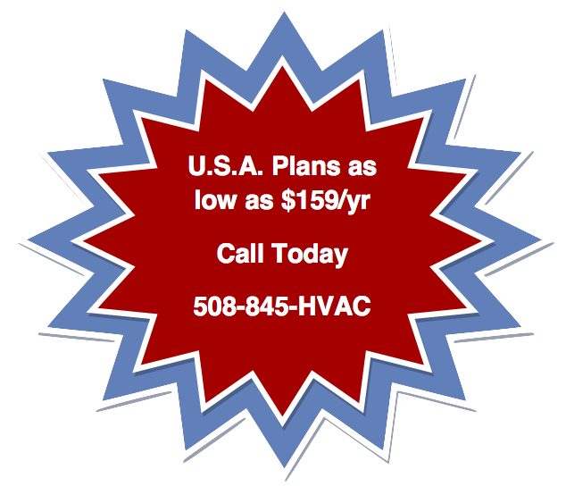 USA HVAC Maintenance Plans Graphic - HVAC Services