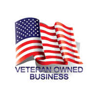 photo of the American Flag designating business as Veteran Owned