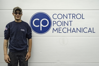 photo of Brett Russell, HVAC technician at CPM of Shrewsbury MA