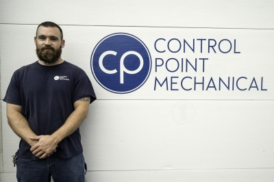 photo of Jake Woskie, HVAC technician at CPM of Shrewsbury MA