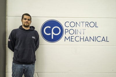 photo of Tom Provost, HVAC technician at CPM of Shrewsbury MA