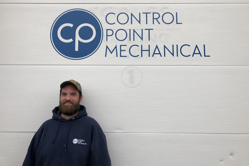 photo of HVAC technician Ben Martel
